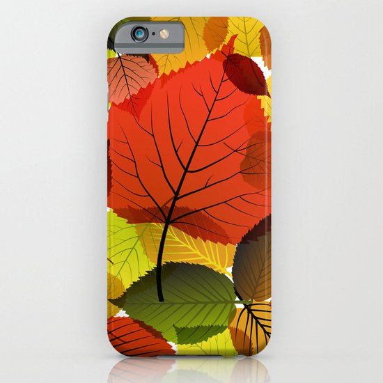 AUTUMN IS BACK iPhone & iPod Case