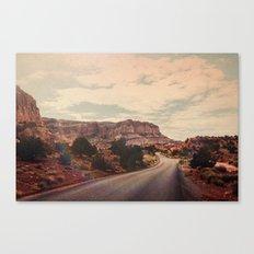 Desert Solitude Canvas Print