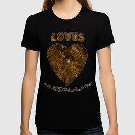 Mosaic of Elephants Tones Earth V T-Shirts T-shirt