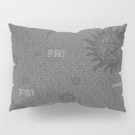 Dean and Sam Aliases Pillow Sham