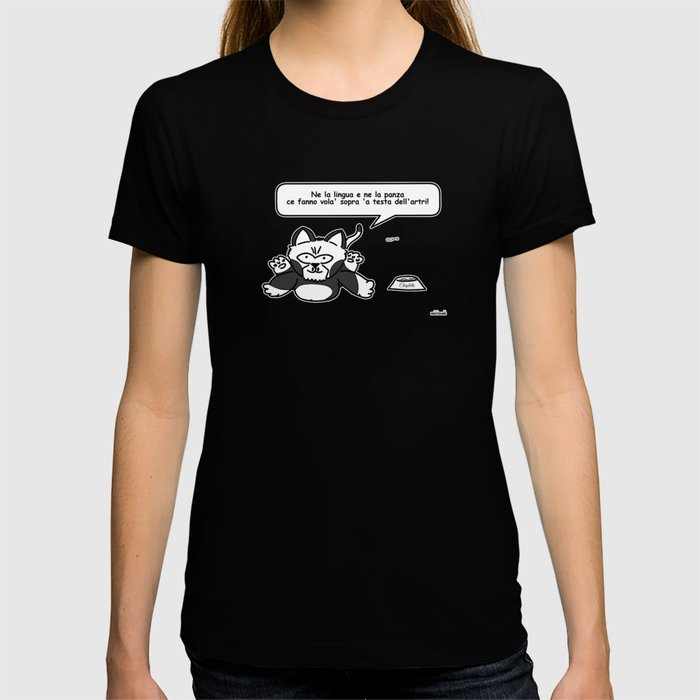 the wise cat - intelligence T-shirt