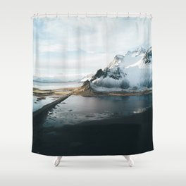 Iceland Adventures - Landscape Photography Shower Curtain