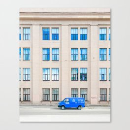 The Blue Canvas Print