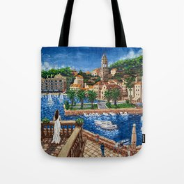 Port of Hvar, Croatia Tote Bag