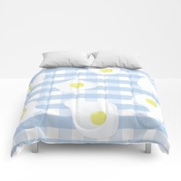 Sunny Side Up + Gingham Comforters