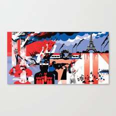 The World Since 9/11 Canvas Print
