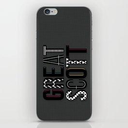 great scott 2 iPhone Skin