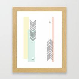 Love Struck Framed Art Print