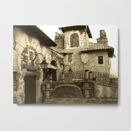 Altos de Chavon Metal Print