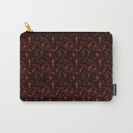 Dark Tortoiseshell Carry-All Pouch