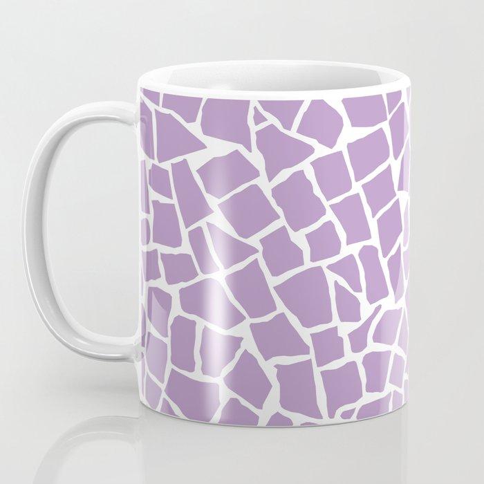 British Mosaic Orchid Coffee Mug