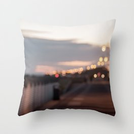 January Dazzler Throw Pillow