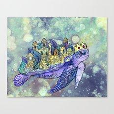 Turtle Kingdom  Canvas Print