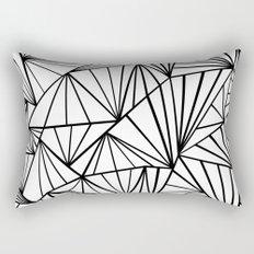 Ab Fan Zoom Invert Rectangular Pillow