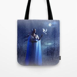 GLOWING BRIGHTLY IN THE NIGHT SKIES 02 Tote Bag