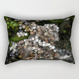 Magical Stars in the Forest Rectangular Pillow