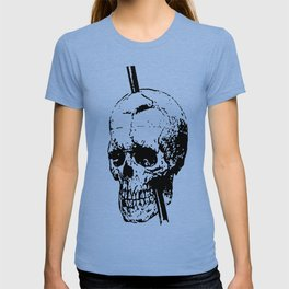 The Skull of Phineas Gage Vintage Illustration T-shirt