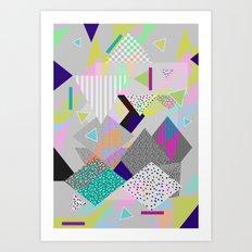 FUNDERLAND  Art Print