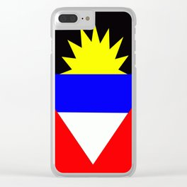 Flag of Antigua and Barbuda Clear iPhone Case