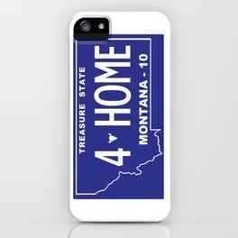 Montana Home - Missoula iPhone Case