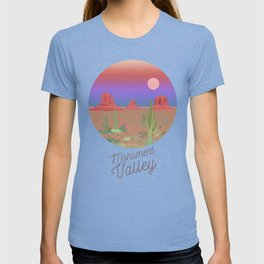 Monument Valley illustration T-shirt