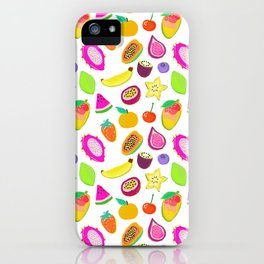 Fruit Punch iPhone Case