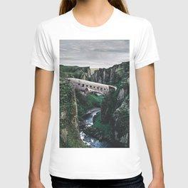 Sólheimasandur Plane Crash Surreal T-shirt