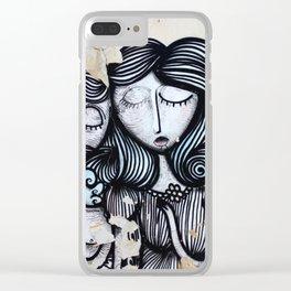 Eternal Love Clear iPhone Case