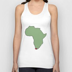 Ali Hearts Cape Town Unisex Tank Top