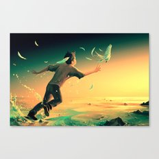Pursuit of Happiness Canvas Print