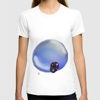 bubble T-shirts featuring Bubble by quackso