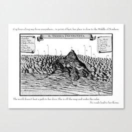 Terra Incognita Canvas Print