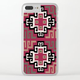 Inca Felling Clear iPhone Case