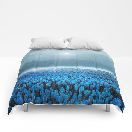 magical Tulips Comforters