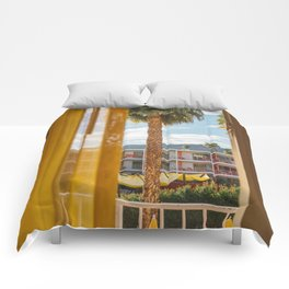 Palm Springs Dreams Comforters