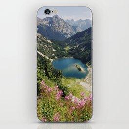 Cascade Summer Wildflowers iPhone Skin