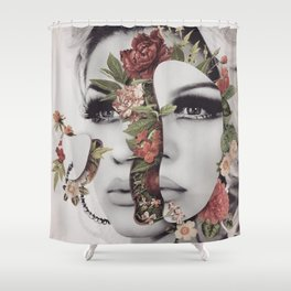 The Mind Is A Garden Shower Curtain