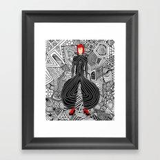 Bowie Fashion 6 Framed Art Print