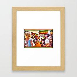 House Of Rastafari / Rototom Sunsplash 2011 Framed Art Print