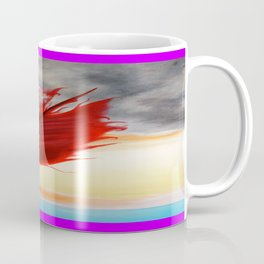 A RED FEATHER BLOWS NORTH Coffee Mug