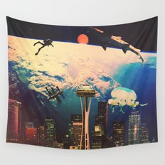 Future. Wall Tapestry
