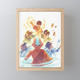Team Avatar Framed Mini Art Print