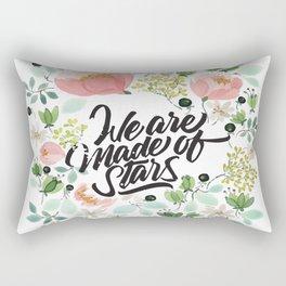 We Are Made Of Stars Rectangular Pillow