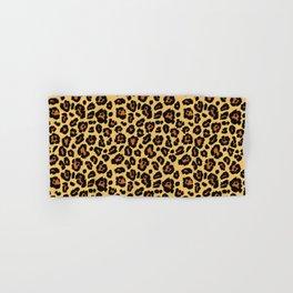 Cheetah Animal Print Hand & Bath Towel