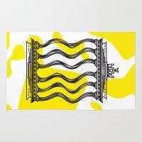 berlin Area & Throw Rugs featuring Berlin by Jan Luzar