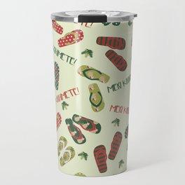 Kiwi Christmas Travel Mug