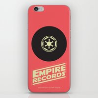 records iPhone & iPod Skins featuring Empire Records by mattranzetta