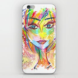 """""""What if I Fall? """"Oh, But My Darling, What if You Fly?"""" iPhone Skin"""