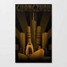 Guangzhou (China) Canvas Print