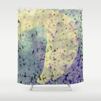 future Shower Curtains featuring Future  by JulKa